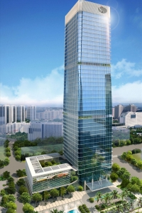 Exterior image of Kerry Plaza 13/F, Tower 3, No.1-1 Zhong Xin Si Road. Click for details.