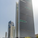 Exterior image of Nassima Tower, 4th Floor, Sheikh Zayed Road. Click for details.