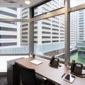 Interior of Hong Kong offices space