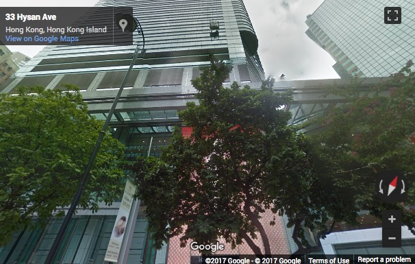 Street View image of 45/F The Lee Gardens, 33 Hysan Avenue, Causeway Bay, Hong Kong