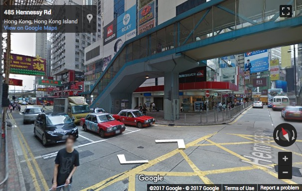Street View image of 22/F Causeway Bay Plaza I, 489 Hennessy Road Causeway Bay, Hong Kong