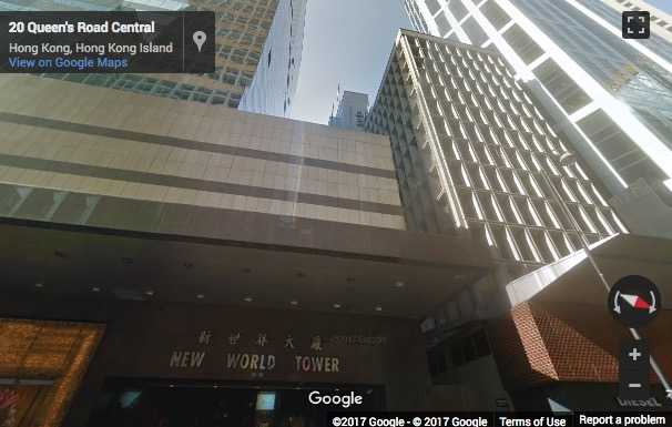Street View image of New World Tower 1, 18 Queen's Road Central, Hong Kong