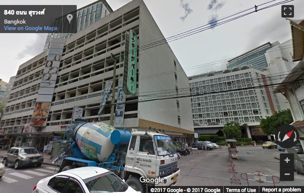 Street View image of The Skulthai Surawong Tower, 141/12 Surawong Road, Suriyawong (near Silom)
