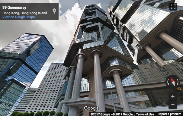 Street View image of Serviced Office Hong Kong - The Lippo Centre Tower 2, 89 Queensway, Admiralty