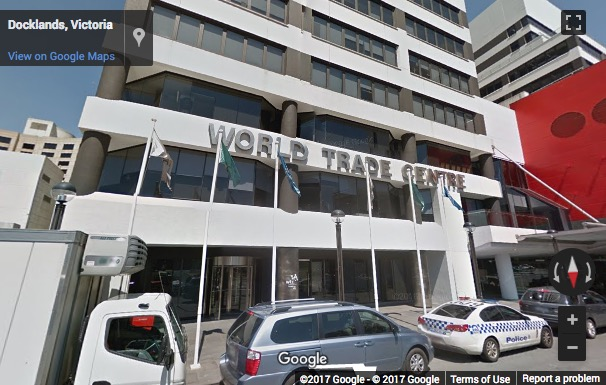 Serviced offices to rent and lease at levels 9 10 world trade street view image of world trade centre 611 flinders street melbourne central business district gumiabroncs Image collections