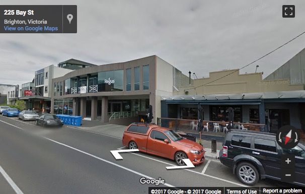 Street View image of 214 Bay Street, Melbourne (at the heart of Brighton business district)