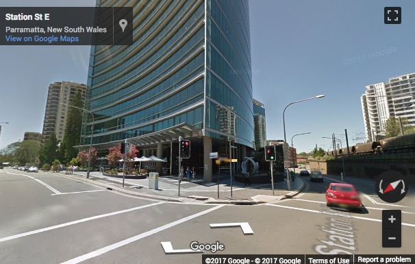 Street View image of Deloittes Eclipse Tower, 60 Station Street, Parramatta