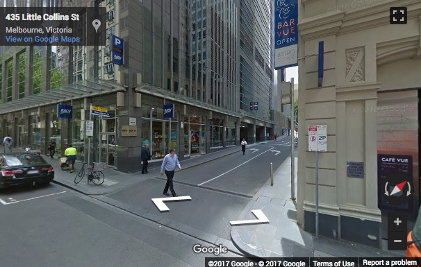 Street View image of Normanby Chambers, 430 Little Collins Street, Melbourne