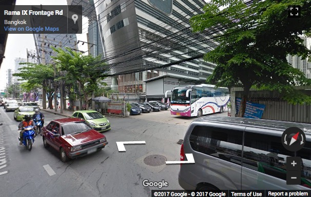Street View image of 35th Floor, 33/4 Tower A, Rama 9 Road, Huaykwang Sub-district, Bangkok