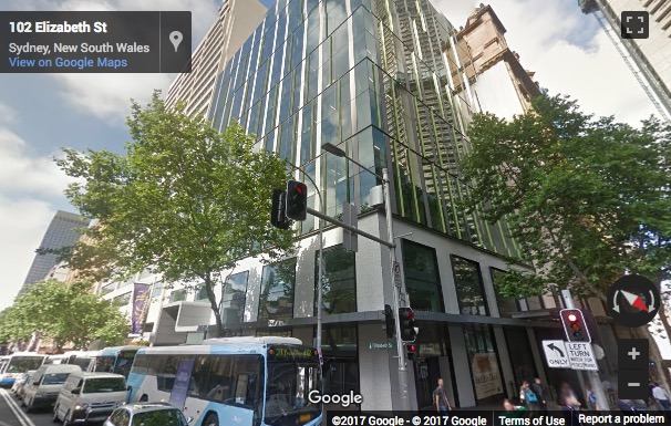 Street View image of Shared Office in Sydney - 99 Elizabeth Street, Sydney