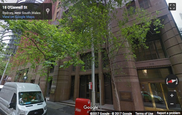 Street View image of 16 O'Connell Street, Sydney, New South Wales