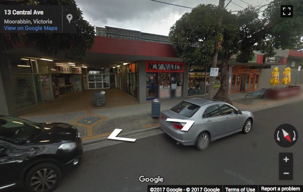 Street View image of Suites 11 & 12, 2 Central Ave, Moorabbin, Victoria, Australia