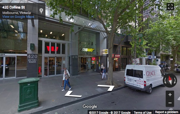Street View image of Level 2, 420 Collins Street, Melbourne, Victoria, Australia