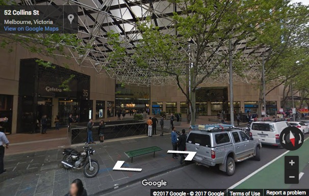 Street View image of Level 30, 35 Collins Street, Melbourne, Victoria, Australia