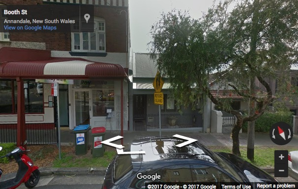 Street View image of Level 1, 33 Booth Street, Annandale, Sydney, New South Wales, Australia
