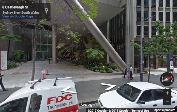 Street View image of Level 16&17;, 9 Castlereagh Street, Sydney, New South Wales, Australia