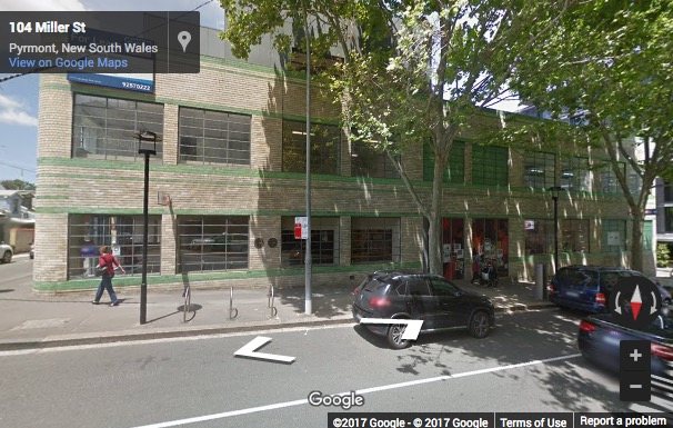Street View image of Suite 2, Level One North, 63 Miller Street, Pyrmont, Sydney, NSW 2009
