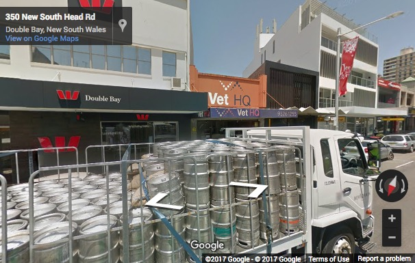 Street View image of 377 New South Head Road, Double Bay, Sydney, New South Wales, Australia