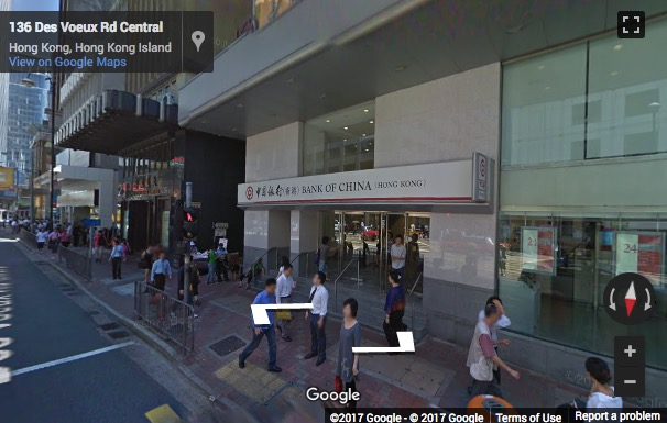 Street View image of Level 9-12, No. 136 Des Voeux Road Central, Sheung Wan, Hong Kong