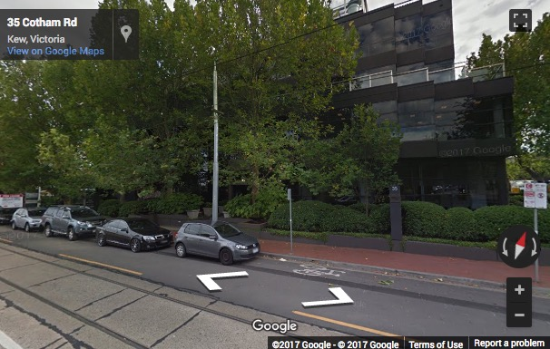Street View image of Ground Floor, 35 Cotham Road, Kew, Melbourne, Victoria, Australia
