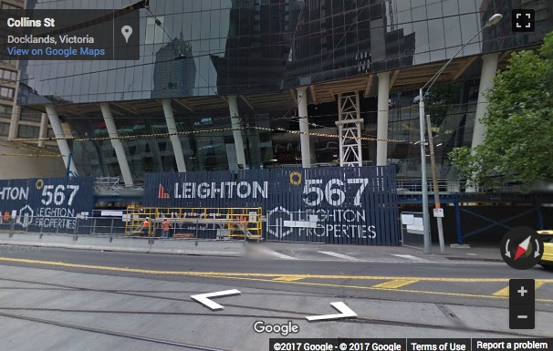 Street View image of Level 21, 567 Collins Street, Melbourne VIC, Melbourne, Victoria, Australia