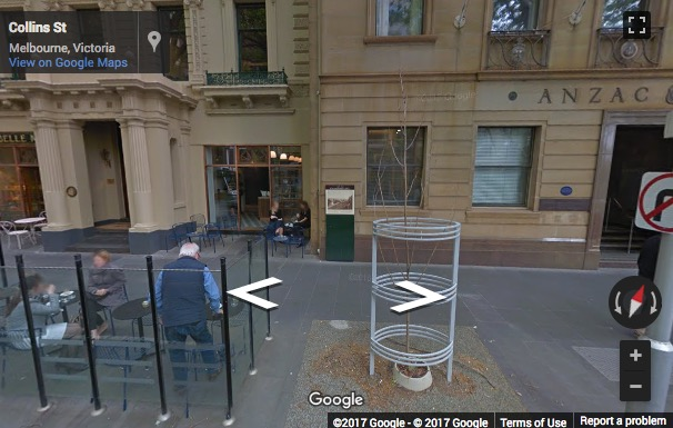 Street View image of 20 Collins Street, Melbourne, Victoria, Australia