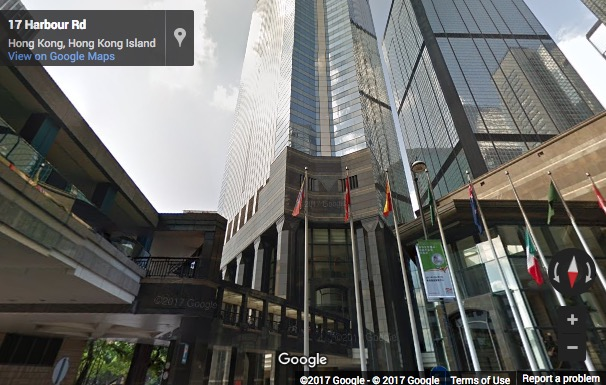 Street View image of Central Plaza,18 Harbour Rd, Wanchai, Hong Kong