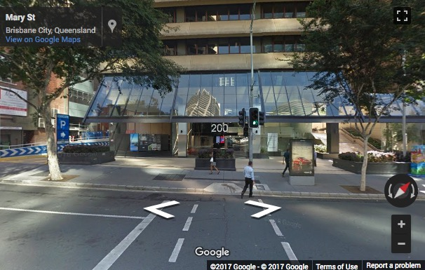 Street View image of Level 16, 200 Mary Street, Brisbane, Queensland, Australia