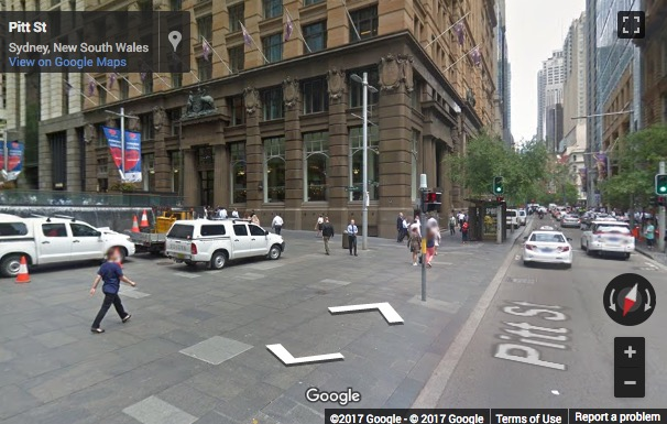 Street View image of 5 Martin Place, Sydney NSW 2000, Sydney, New South Wales, Australia