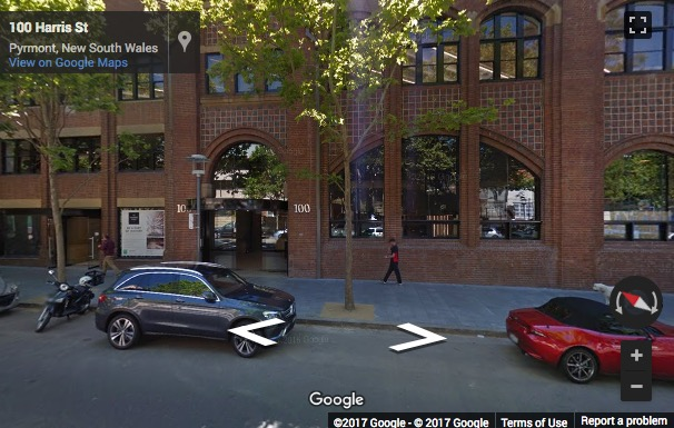Street View image of 100 Harris Street, Pyrmont, Sydney, New South Wales, Australia
