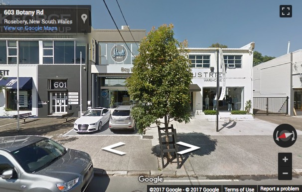 Street View image of 603 Botany Road, Alexandria, Sydney, New South Wales, Australia