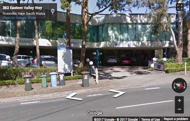 Street View image of 18/390 Eastern Valley Way, Chatswood, NSW, New South Wales, Australia