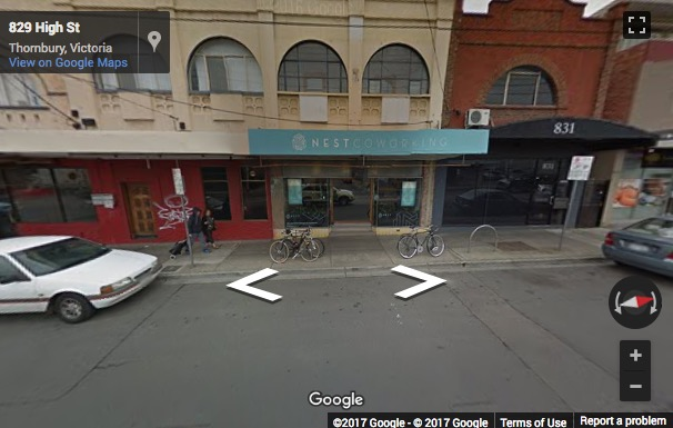 Street View image of 829a High St, Melbourne, Victoria, Australia