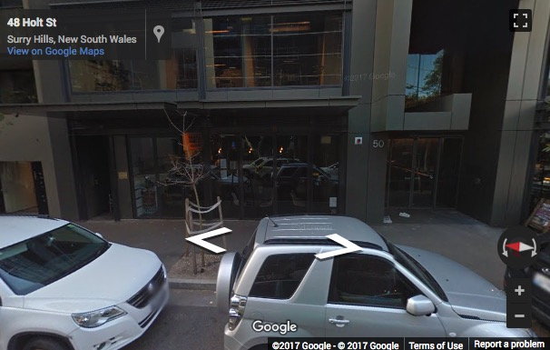 Street View image of Suite 111, 50 Holt Street, Surry Hills, Sydney, New South Wales, Australia
