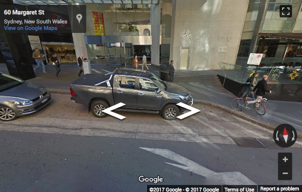 Street View image of Level 34, 60 Margaret Street, Sydney, New South Wales, Australia