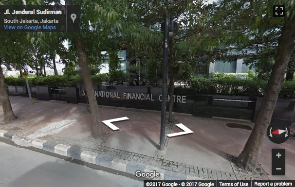 Street View image of Level 33, International Financial Centre, Tower 2 Jalan Jenderal Sudirman Kav. 22-23, Jakarta