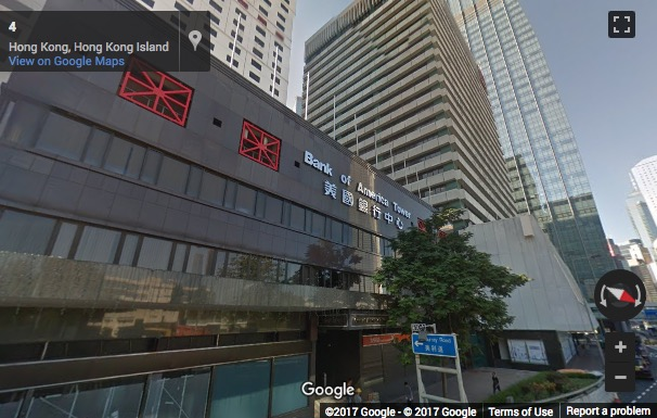 Street View image of Room 1308, Bank of America Tower, Harcourt Road 12., Central, Hong Kong