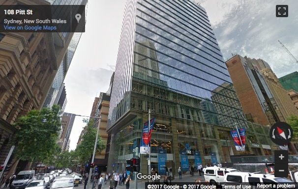 Street View image of Level 10, 20 Martin Place, Sydney, New South Wales