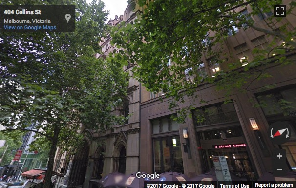 Street View image of 401 Collins Street, Melbourne, Victoria