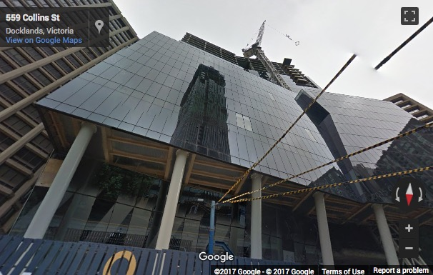 Street View image of Level 19, 567 Collins Street, Melbourne, Victoria