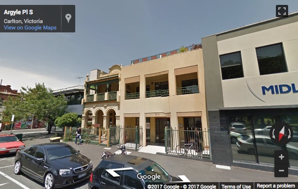 Street View image of 19-21 Argyle Place South, Carlton, Melbourne, Victoria