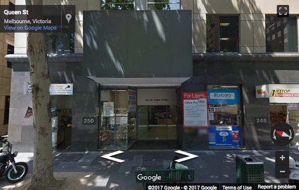 Street View image of Level 6, 250 Queen Street, Melbourne, Victoria