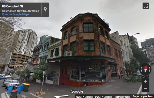 Street View image of 74, 76 Campbell Street, Sydney, New South Wales