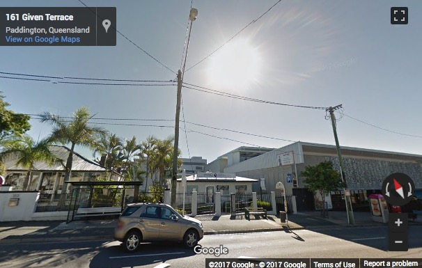 Street View image of 161 Given Terrace, Brisbane, Queensland
