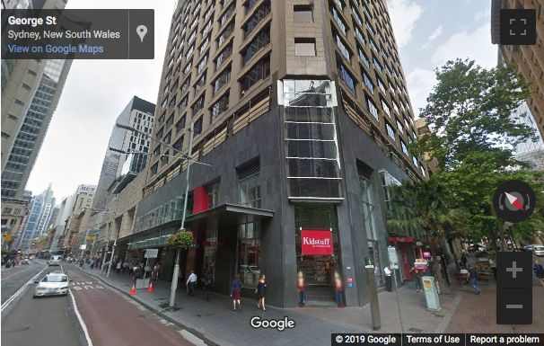 Street View image of 383 George Street, Sydney, New South Wales