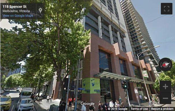 Street View image of 120 Spencer Street, Melbourne, Victoria