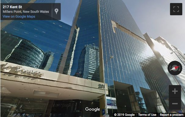 Street View image of 201 Kent Street, Barangaroo, Sydney, New South Wales