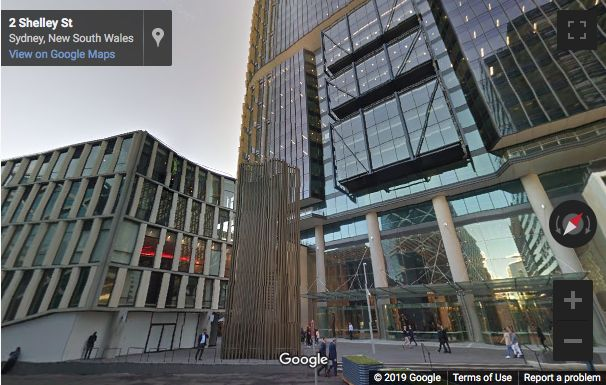 Street View image of Three International Towers, 300 Barangaroo Avenue, Sydney, New South Wales