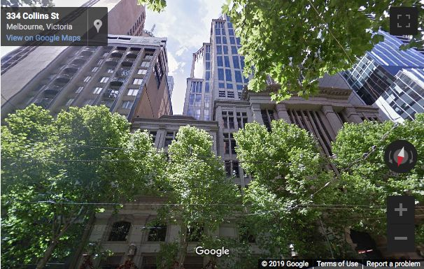 Street View image of 333 Collins Street, Melbourne, Victoria