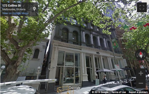 Street View image of 162 Collins Street, Melbourne, Victoria
